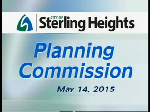 Planning Commission Meeting: 5/14/15