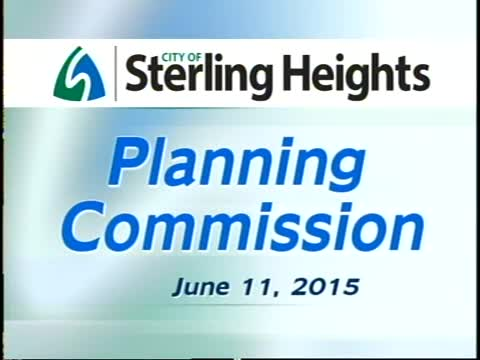 Planning Commission Meeting: 6-11-15