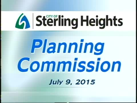 Planning Commission Meeting: 7-9-15