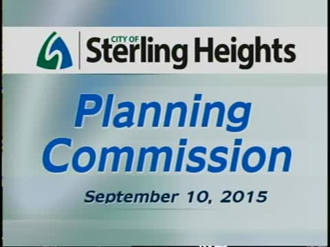 Planning Commission Meeting: 9-10-15