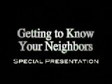 Getting to Know Your Neighbors - Panel Discussion
