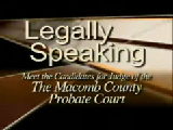 Legally Speaking - Meet the Candidates for the Macomb County Probate Court